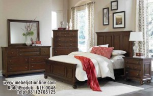 Kamar Set Natural Kayu