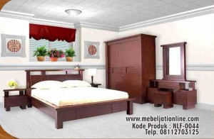 Kamar Set Natural Minimalis