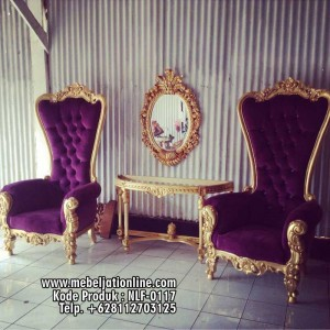 Set Kursi Sofa Ratu